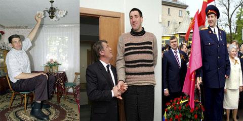 Самый высокий человек в истории, Леонид Иванович Стадник